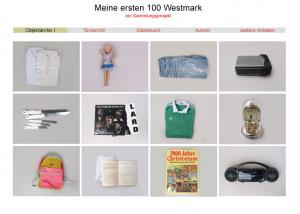 Shoppingausbeute von Wirtschaftsflüchtlingen aus der DDR